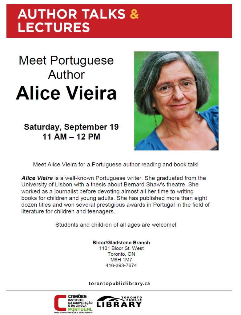 Alice Vieira - flyer EN