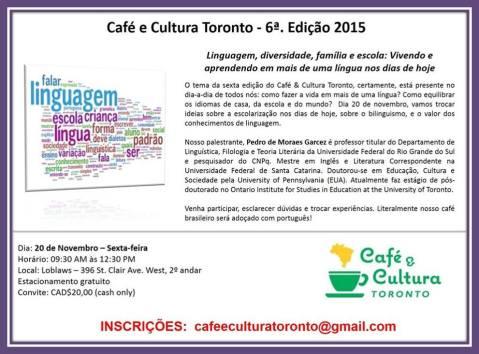 cafe e cultura